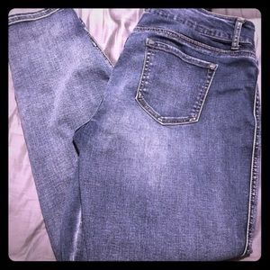 Maurice's nwot blue skinny jeggings